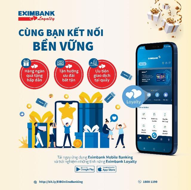 Eximbank chăm sóc khách hàng thân thiết - Ảnh 1.