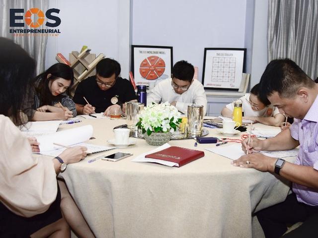 Mô hình vận hành doanh nghiệp EOS chính thức được nhượng quyền tại Việt Nam - Ảnh 3.