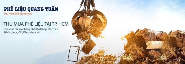 Quang Tuấn - Công ty thu mua phế liệu tại TPHCM uy tín - Ảnh 1.