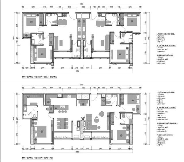 Kiến trúc sư nói gì về kinh nghiệm thiết kế căn hộ đập thông? - Ảnh 1.