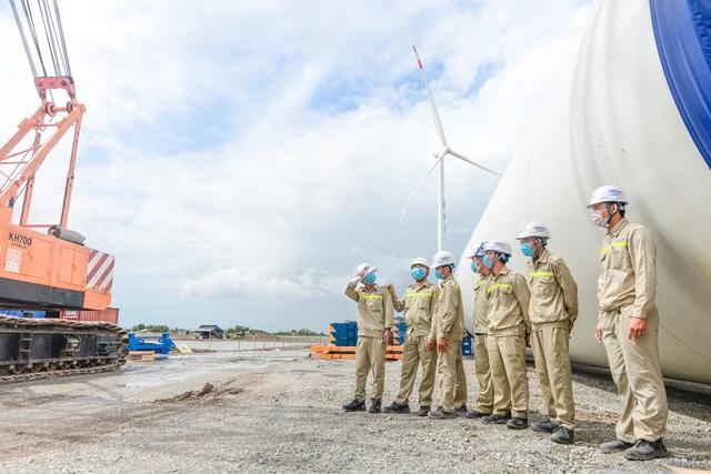"""Tập đoàn Kosy đẩy nhanh tiến độ thi công nhà máy Điện gió Kosy Bạc Liêu trước """"giờ G"""" - Ảnh 2."""