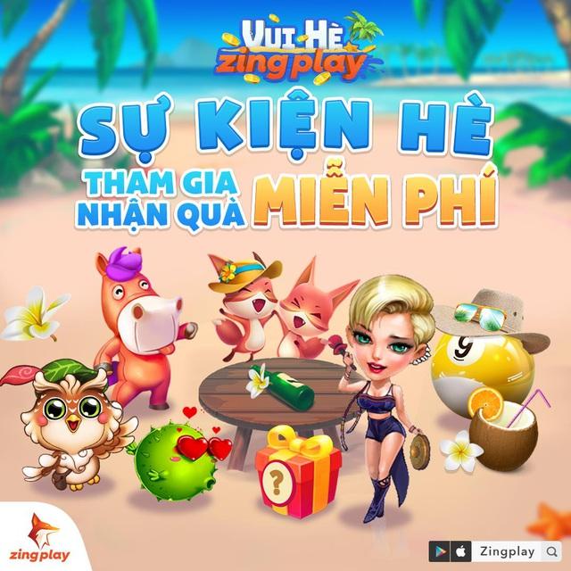 """""""Vui Hè ZingPlay"""" rinh ngay quà hot – Sân chơi tưng bừng của cộng đồng game thủ Việt - Ảnh 2."""