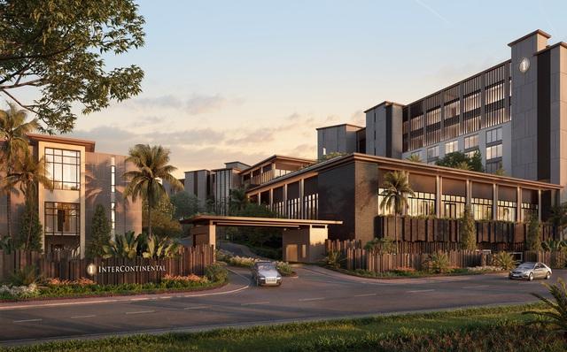 Coteccons công bố trúng thầu dự án InterContinental Halong Bay Resort & Residences - Ảnh 1.