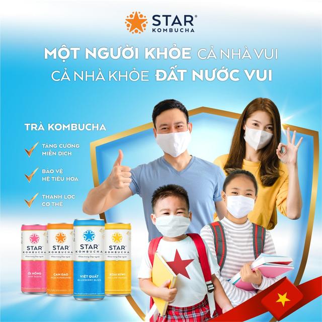 Vì một Việt Nam khỏe mạnh cùng Star Kombucha - Ảnh 2.
