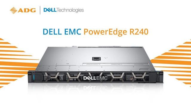 Đánh giá máy chủ Dell EMC Poweredge R240 - Ảnh 1.