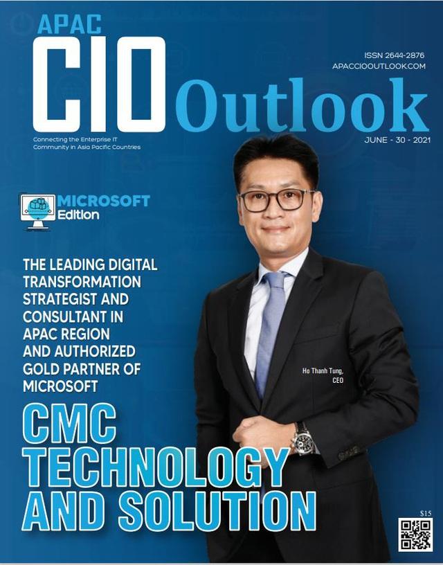 CMC TS được vinh danh trong top 10 nhà cung cấp giải pháp Microsoft tại châu Á – Thái Bình Dương - Ảnh 1.