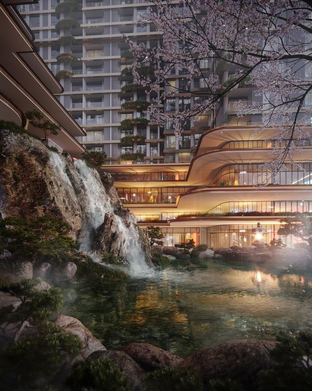 3 tập đoàn huyền thoại Nhật Bản triển khai tổ hợp căn hộ Onsen tại Ecopark - Ảnh 2.