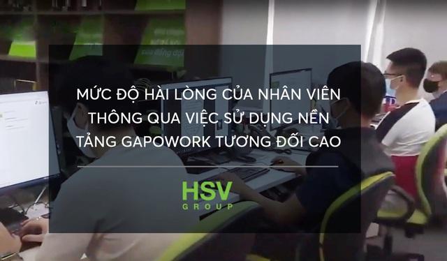 HSV Group vượt qua đại dịch với GapoWork như thế nào? - Ảnh 3.