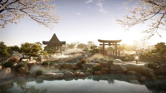 """Cận cảnh tổ hợp Onsen 1.000 tỷ  trong Ecopark được phát triển bởi 3 """"ông lớn"""" Nhật Bản - Ảnh 1."""