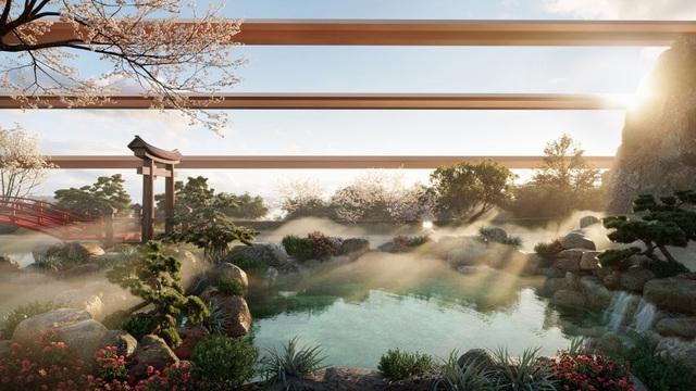"""Cận cảnh tổ hợp Onsen 1.000 tỷ  trong Ecopark được phát triển bởi 3 """"ông lớn"""" Nhật Bản - Ảnh 2."""