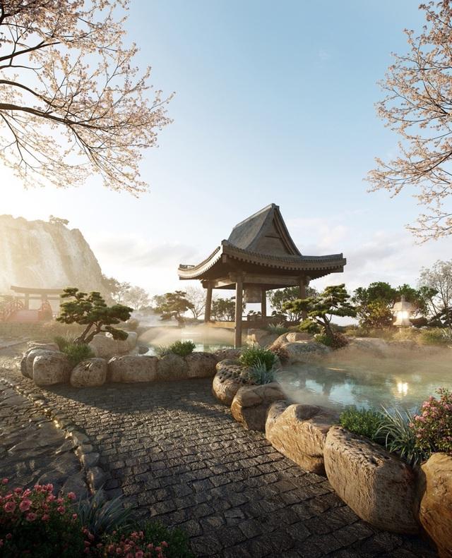 """Cận cảnh tổ hợp Onsen 1.000 tỷ  trong Ecopark được phát triển bởi 3 """"ông lớn"""" Nhật Bản - Ảnh 3."""