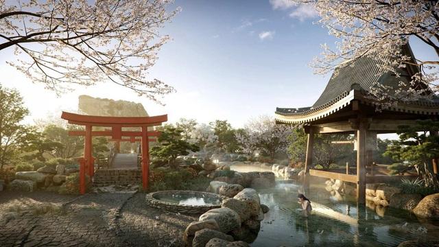 """Cận cảnh tổ hợp Onsen 1.000 tỷ  trong Ecopark được phát triển bởi 3 """"ông lớn"""" Nhật Bản - Ảnh 4."""