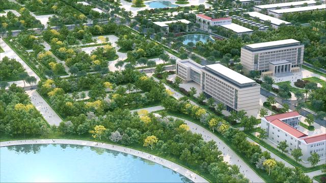 Thái Hòa đẩy mạnh phát triển khu hành chính và hạ tầng xã hội để đạt tiêu chuẩn thành phố đô thị loại III - Ảnh 2.