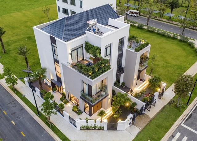 Dòng tiền chảy mạnh vào nhà phố, biệt thự đô thị sinh thái vệ tinh - Ảnh 1.