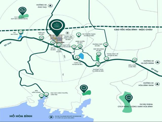 La Viena Valley - Đón đầu quy hoạch cao tốc Hoà Bình - Mộc Châu - Ảnh 1.