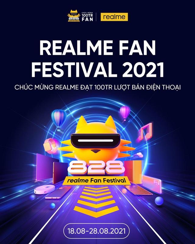 realme Fanfets 2021 tri ân khách hàng toàn cầu cùng thông điệp How Dare You Be You - Ảnh 1.