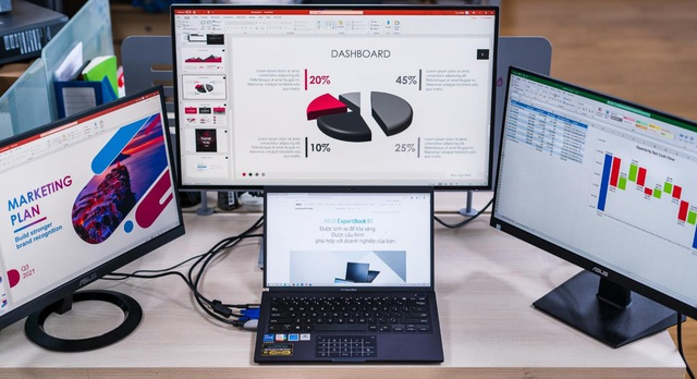ASUS ExpertBook B1 - Mẫu laptop doanh nghiệp mạnh mẽ với khả năng nâng cấp linh hoạt - Ảnh 3.
