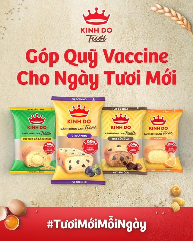 Bánh Tươi Kinh Đô: Chung tay góp Quỹ Vaccine vượt qua Covid-19 - Ảnh 1.