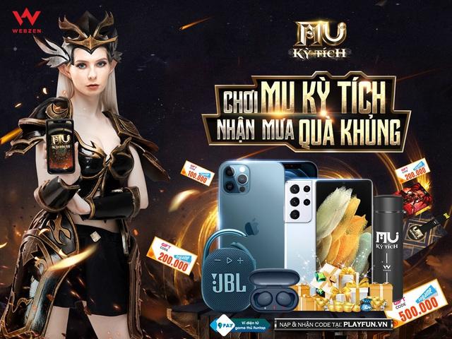 """MU Kỳ Tích: 3 chiếc iPhone 12 Pro Max thời thượng từ sự kiện """"Chúa Tể Đại Lục"""" đã tìm được chủ nhân xứng đáng - Ảnh 1."""
