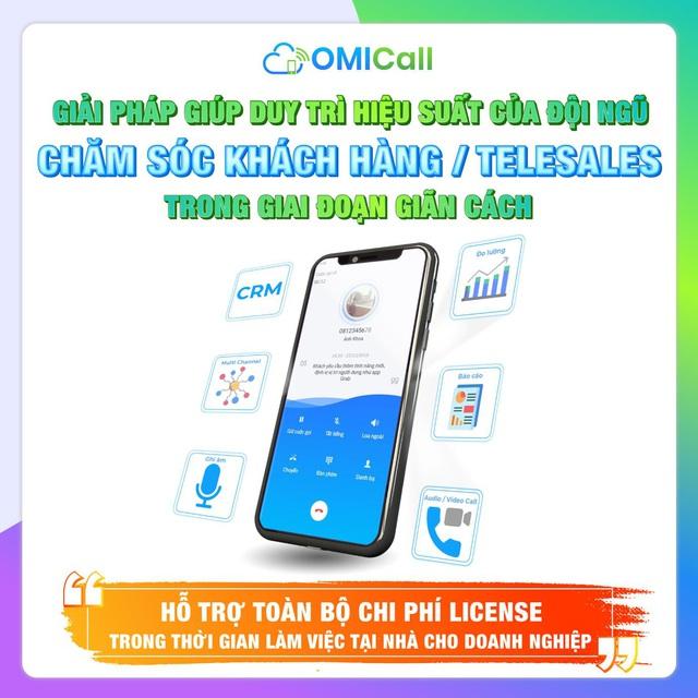 Tổng đài đa kênh OMICall miễn phí License trong thời gian phong tỏa - Ảnh 3.