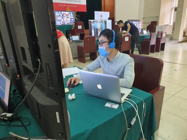 Trường ĐH Mỹ thuật Công nghiệp tuyển sinh trực tuyến hơn 2.000 thí sinh - Ảnh 2.