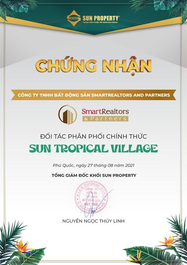 SmartRealtors là đại lý phân phối chính thức dự án Sun Tropical Village - Ảnh 1.