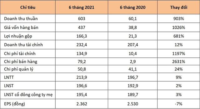 Doanh thu Tập đoàn An Gia (AGG) nửa đầu năm gấp 10 lần cùng kỳ - Ảnh 1.
