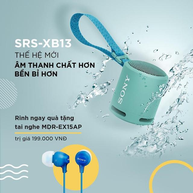 Sony ra mắt loa không dây di động SRS-XB13 với âm thanh EXTRA BASS mạnh mẽ - Ảnh 5.