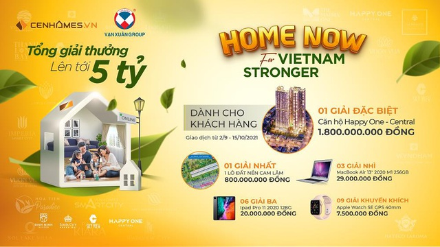 Happy One – Central: Cùng Cenhomes.vn đóng góp 5 triệu đồng/giao dịch vì cộng đồng - Ảnh 1.