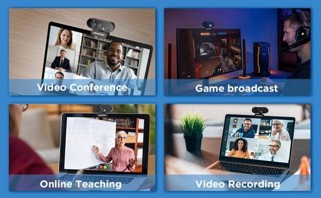 Thiết bị hỗ trợ học tập online, làm việc, họp trực tuyến - Ảnh 2.