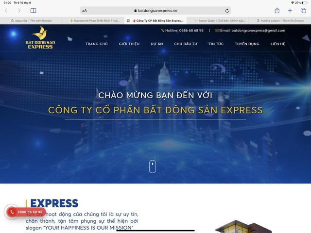 Batdongsanexpress.vn - Trang web hỗ trợ thông tin bất động sản uy tín tại Việt Nam - Ảnh 1.