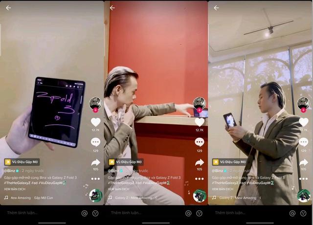 Galaxy Z Fold3 lập team Đỉnh Chóp với phát pháo đầu tiên từ BinZ - Ảnh 1.