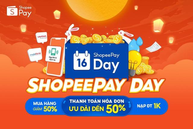 Từ thanh toán hóa đơn đến mua sắm trực tuyến, tất cả đều có ưu đãi tại ShopeePay Day - ảnh 1