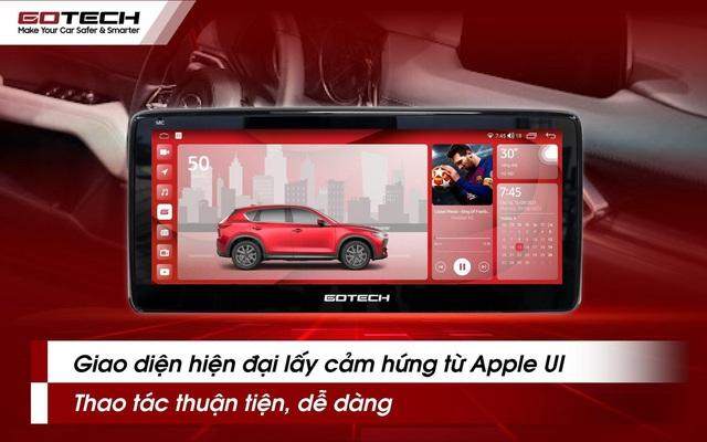 """GOTECH trình làng """"bom tấn"""" dành cho Mazda tích hợp AI với ngôn ngữ thiết kế Apple UI vạn người mê - Ảnh 4."""