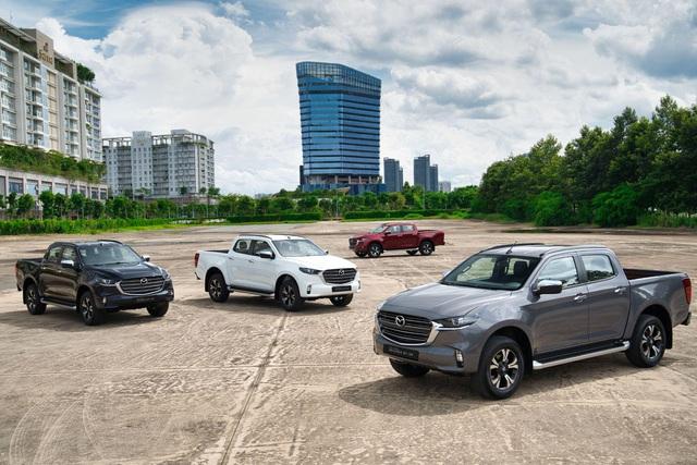 Mazda BT-50 2021 mang luồng gió mới cho phân khúc bán tải đô thị với tiện nghi như SUV cao cấp - Ảnh 1.