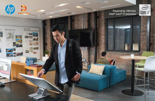 HP EliteOne 800 G6 AiO Touch - Bộ máy tính AIO có nhiều điểm mới ấn tượng - Ảnh 1.