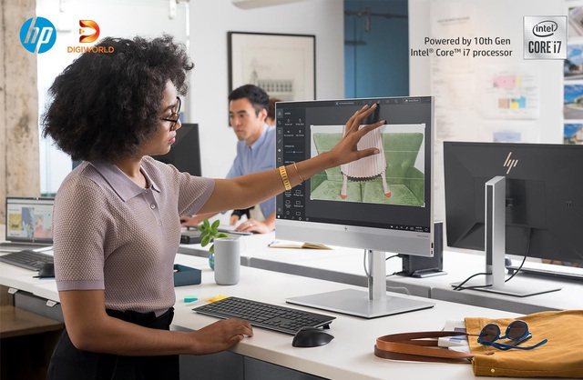 HP EliteOne 800 G6 AiO Touch - Bộ máy tính AIO có nhiều điểm mới ấn tượng - Ảnh 2.