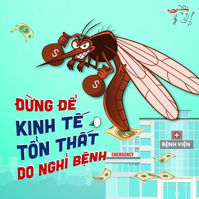 """Vài phen """"đau ví"""" vì những căn bệnh """"ơi là trời"""" do muỗi gây ra, người trẻ nhanh trí dự phòng bằng 1 giải pháp - ảnh 2"""