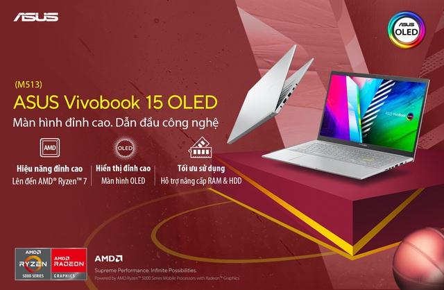 Màn hình OLED - Điểm nhấn công nghệ trên ASUS Vivobook M513 - Ảnh 1.