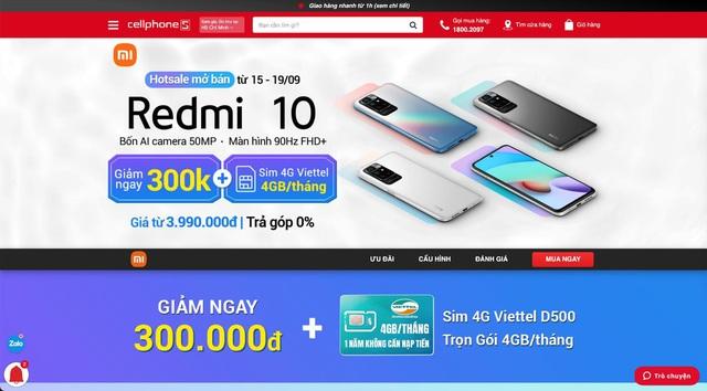 Smartphone màn hình 90Hz, pin khủng 5000mAh giảm giá còn hơn 3 triệu - Ảnh 2.