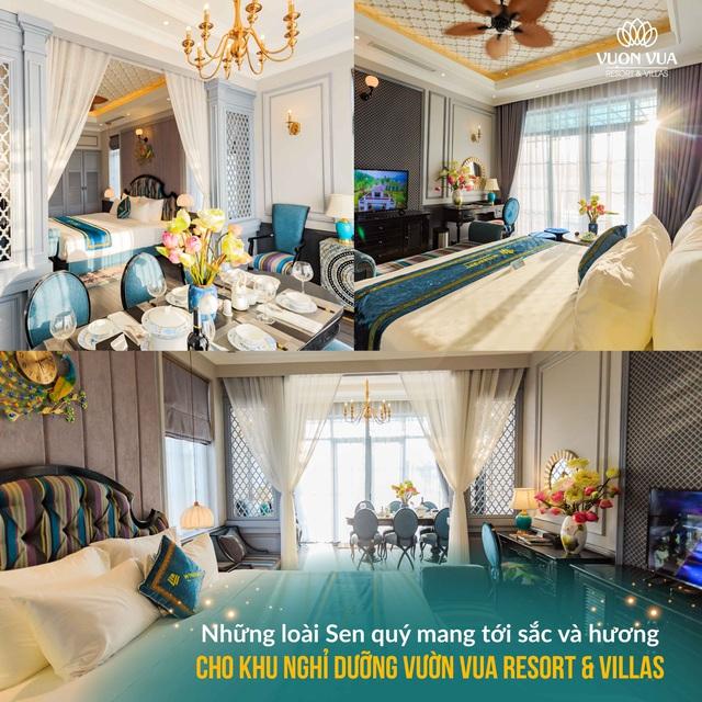 Vườn Vua Resort & Villas: Tiến gần hơn đến mục tiêu hình thành Festival hoa sen Quốc tế - Ảnh 3.