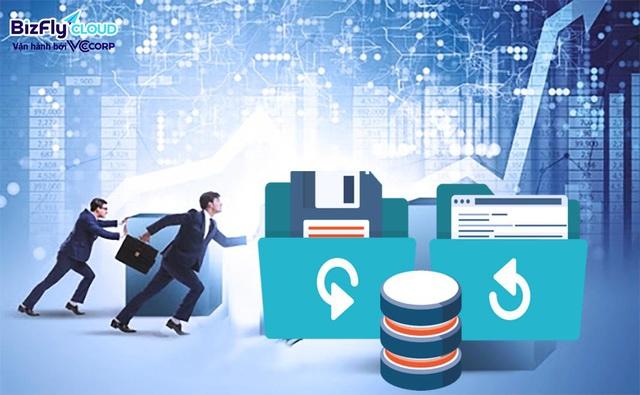 Dữ liệu Doanh nghiệp gặp sự cố gây gián đoạn kinh doanh và thiệt hại lớn về doanh số, phương án sao lưu và khôi phục từ Bizfly Cloud - Ảnh 1.