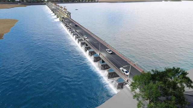 C47 ký gói thầu thi công xây dựng và lắp đặt thiết bị dự án Đập dâng Phú Phong - Ảnh 1.