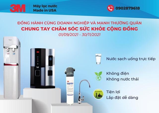 Máy lọc nước 3M: Nước sạch uống trực tiếp cho bệnh viện và gia đình trong dịch Covid-19 - Ảnh 3.