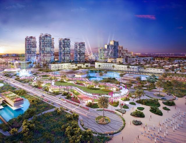 Quảng trường biển Thanh Long Bay – Thắp sáng nền kinh tế đêm - Ảnh 1.