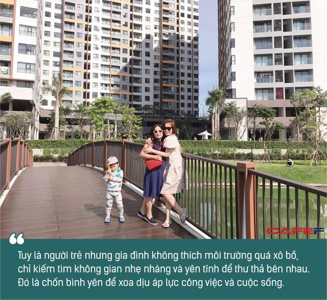Từ trung tâm chuyển ra ngoại thành, đôi vợ chồng trẻ trốn cảnh xô bồ, chỉ mong sống giãn ra để giải tỏa áp lực - Ảnh 4.