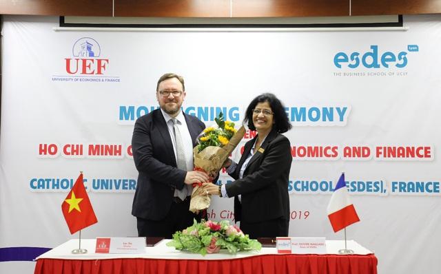 UEF sẽ là trường thành viên tiên phong tại Đông Nam Á của Liên minh Cintana - ảnh 5