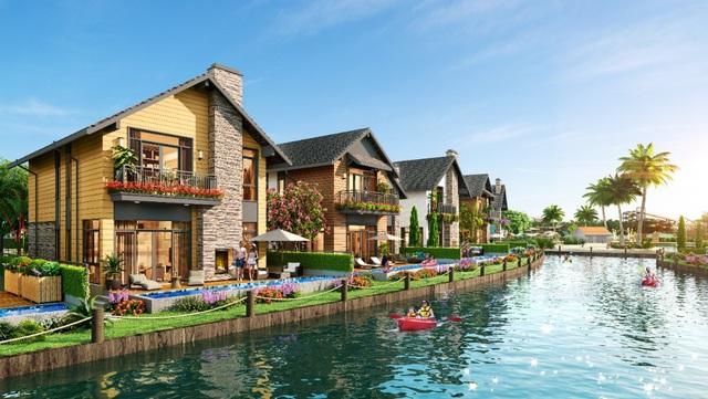 Khám phá làng biệt thự Lagoon đẹp như cổ tích tại The Tropicana - NovaWorld Ho Tram - Ảnh 1.