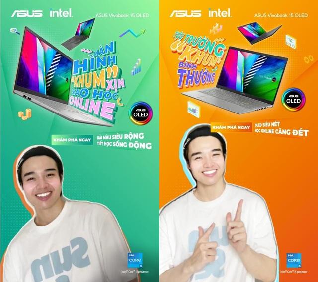 """Tựu trường """"Khum"""" bình thường cùng laptop ASUS Vivobook 15 OLED - Ảnh 2."""