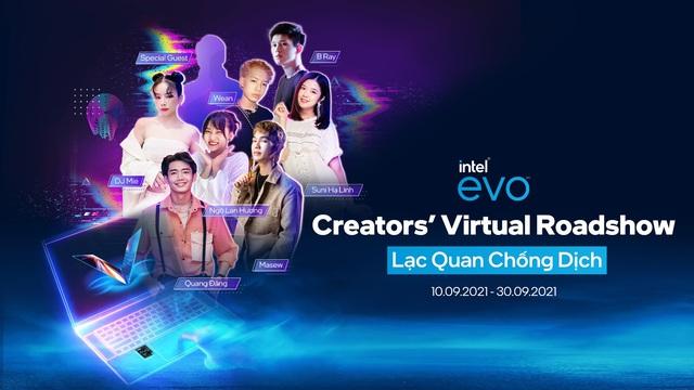 LG cùng Intel lan tỏa năng lượng tích cực qua chiến dịch Intel® Evo™ Creators' Virtual Roadshow - ảnh 1